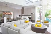 Фото 1 Дизайн кухни-столовой-гостиной: как грамотно объединить функциональные зоны