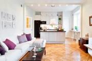 Фото 12 Дизайн кухни-столовой-гостиной: как грамотно объединить функциональные зоны