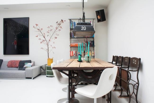 Интерьер квартиры-студии в минималистичном стиле