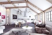 Фото 15 Дизайн кухни-столовой-гостиной: как грамотно объединить функциональные зоны
