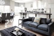 Фото 22 Дизайн кухни-столовой-гостиной: как грамотно объединить функциональные зоны