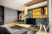 Фото 23 Дизайн кухни-столовой-гостиной: как грамотно объединить функциональные зоны