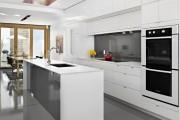 Фото 2 Кухня хай-тек: бескомпромиссная функциональность в интерьере