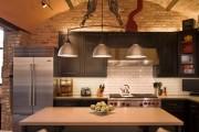 Фото 9 Кухня в стиле лофт: индустриальная романтика в домашнем интерьере, 75 фото