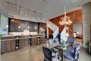 Фото 10 Кухня в стиле лофт: индустриальная романтика в домашнем интерьере, 75 фото