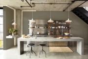 Фото 12 Кухня в стиле лофт: индустриальная романтика в домашнем интерьере, 75 фото