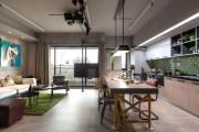 Фото 13 Кухня в стиле лофт: индустриальная романтика в домашнем интерьере, 75 фото