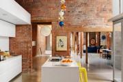 Фото 15 Кухня в стиле лофт: индустриальная романтика в домашнем интерьере, 75 фото