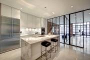 Фото 16 Кухня в стиле лофт: индустриальная романтика в домашнем интерьере, 75 фото
