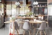 Фото 17 Кухня в стиле лофт: индустриальная романтика в домашнем интерьере, 75 фото