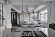 Фото 25 Кухня в стиле лофт: индустриальная романтика в домашнем интерьере, 75 фото