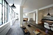 Фото 26 Кухня в стиле лофт: индустриальная романтика в домашнем интерьере, 75 фото