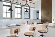 Фото 29 Кухня в стиле лофт: индустриальная романтика в домашнем интерьере, 75 фото