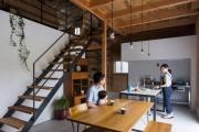 Фото 30 Кухня в стиле лофт: индустриальная романтика в домашнем интерьере, 75 фото