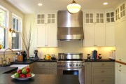 Фото 5 Кухонный гарнитур для маленькой кухни: 40+ фото эффективной организации пространства и секреты удачного выбора