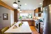 Фото 10 Кухонный гарнитур для маленькой кухни: 40+ фото эффективной организации пространства и секреты удачного выбора