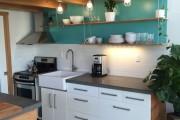 Фото 11 Кухонный гарнитур для маленькой кухни: 40+ фото эффективной организации пространства и секреты удачного выбора