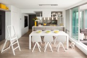 Фото 12 Кухонный гарнитур для маленькой кухни: 40+ фото эффективной организации пространства и секреты удачного выбора