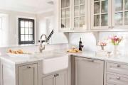 Фото 14 Кухонный гарнитур для маленькой кухни: 40+ фото эффективной организации пространства и секреты удачного выбора