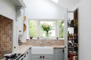 Фото 15 Кухонный гарнитур для маленькой кухни: 40+ фото эффективной организации пространства и секреты удачного выбора