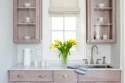 Фото 17 Кухонный гарнитур для маленькой кухни: 40+ фото эффективной организации пространства и секреты удачного выбора