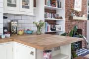 Фото 18 Кухонный гарнитур для маленькой кухни: 40+ фото эффективной организации пространства и секреты удачного выбора