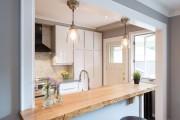 Фото 20 Кухонный гарнитур для маленькой кухни: 40+ фото эффективной организации пространства и секреты удачного выбора
