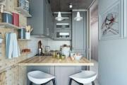 Фото 23 Кухонный гарнитур для маленькой кухни: 40+ фото эффективной организации пространства и секреты удачного выбора