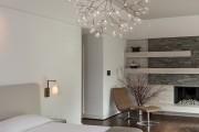 Фото 9 Люстры для спальни: обзор современных и оригинальных моделей в интерьере