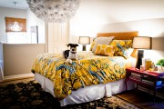 Фото 12 Люстры для спальни: 45 ослепительно красивых фото в интерьере