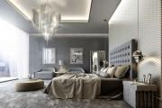 Фото 1 Люстры для спальни: обзор современных и оригинальных моделей в интерьере