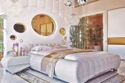 Фото 3 Люстры для спальни: 45 ослепительно красивых фото в интерьере