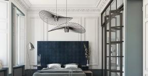 Люстры для спальни: 45 ослепительно красивых фото в интерьере фото