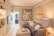Фото 15 Маленькие гостиные: хитрости оптимизации и расширения имеющегося пространства