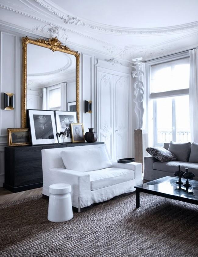 Чтобы интерьер выглядел изыскано, шикарно и дорого, необязательно тратить баснословные деньги, всего этого можно достичь с помощью декорирования помещений молдингами