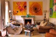 Фото 9 30+ уютных идей накидки на диван для украшения и защиты мебели (фото)