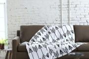 Фото 11 30+ уютных идей накидки на диван для украшения и защиты мебели (фото)