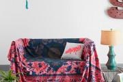 Фото 13 30+ уютных идей накидки на диван для украшения и защиты мебели (фото)