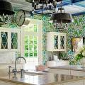 Обои для кухни: обзор самых вкусных и свежих тенденций года в кухонном интерьере фото