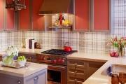 Фото 2 Обои для кухни: обзор самых вкусных и свежих тенденций года в кухонном интерьере