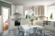 Фото 8 Обои для кухни: обзор самых вкусных и свежих тенденций года в кухонном интерьере