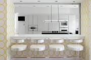 Фото 13 Обои для кухни: обзор самых вкусных и свежих тенденций года в кухонном интерьере