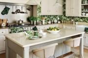 Фото 20 Обои для кухни: обзор самых вкусных и свежих тенденций года в кухонном интерьере