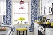 Фото 21 Обои для кухни: обзор самых вкусных и свежих тенденций года в кухонном интерьере