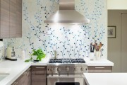 Фото 25 Обои для кухни: обзор самых вкусных и свежих тенденций года в кухонном интерьере