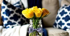 Оформление квартиры живыми цветами: советы, как украсить квартиру цветами фото