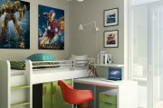 Фото 1 Выбираем письменный стол для школьника: 75 современных моделей для детской комнаты