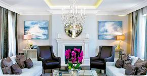 Потолок из гипсокартона в зале: 90+ роскошных интерьеров для гостиной вашей мечты фото