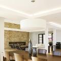 Потолок из гипсокартона в зале: 45+ вдохновляющих фото для преображения гостиной фото