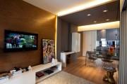 Фото 4 Потолок из гипсокартона в зале: 90+ роскошных интерьеров для гостиной вашей мечты